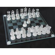 Juegos De Mesa De Cristal Ajedrez, Backgammon, Dados, Tictac