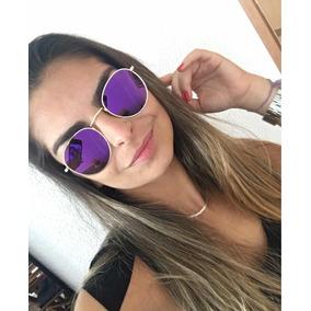 c75e2187f325f Oculos De Sol Rb Redondo Moda Jovem Elegancia - Óculos no Mercado ...