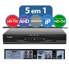 Dvr 4 Canais 5x1 Stand Alone Alta Definicao(1080x960) Pandax