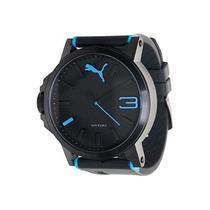 Relógio Puma Masculino Azul Original 12xs/juros Sedex Gratis