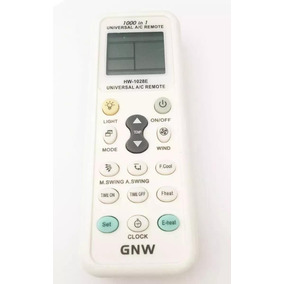 Control Remoto Universal Para Minisplit 1000 Codigos Gnw