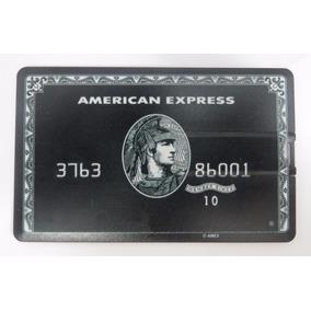 Pen Drive Personalizado Cartão Crédito American Express 8gb