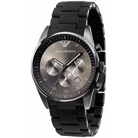Relógio Emporio Armani Ar5889 Preto Original Completo 12x.
