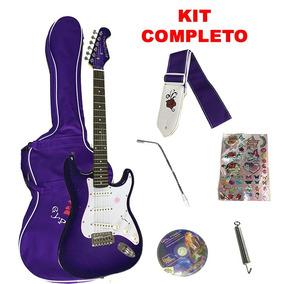 Guitarra Gypsy Infantil Juvenil Menina/menino Azul Barata