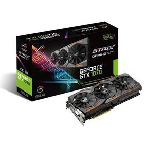 Tarjeta De Video Asus Geforce Gtx 1070 8gb Oc Gaming Strix