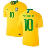 Camiseta De Brasil 2018
