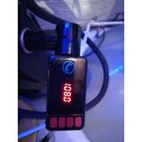 Transmisor Fm Car Mp3 Con Cargador Dos Usb Y Micro Sd
