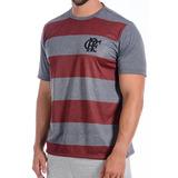 Camisa Flamengo Braziline Masculina Soblit Original + Nf