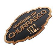 Placa Decorativa Cantinho Do Churrasco Madeira Rustica