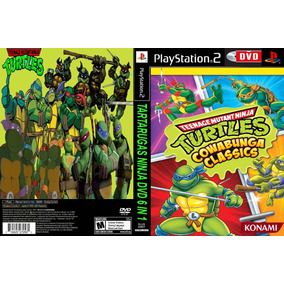 Tmnt Tartarugas Ninja Dvd 6 In1 - Playstation 2 - Turtles