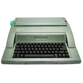 Máquina Escrever Eletrônica Facit T165 220v Portátil Nova Cx
