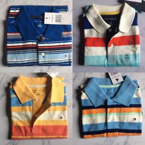 Camisa Camiseta Polo Tommy Hilfiger Infantil Original 8 Anos