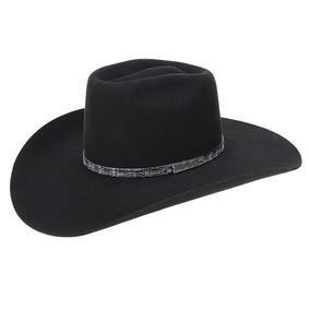 Chapéu De Cowboy Feltro Preto Copa Alta Texas Diamond 20988 150fbd45b15