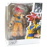 Figura De Goku Fase Dios Dragon Ball + Envio Gratis