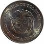 Moneda Escasa De Colombia 50 Centavos 1958 Km# 217 Bolivar