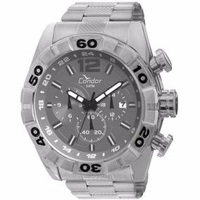 Relógio Condor Civic Dual Time Covd33ab/3c Frete Gratis
