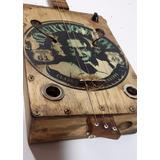 Cigar Box Guitar- Robert Johnson, Mississipi 61/49- By Giga!