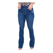Calça Jeans Flare Feminina Revanche Chanine