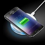 Cargador Inalámbrico Qi Cojín Estera De Carga Para Samsung N