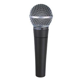 Microfone Shure Sm58 Lc Original - Loja Credenciada Shure