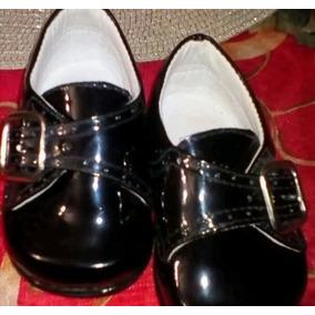 Zapatos Patentes Para Niños Talla 17