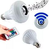 Lampada Led Musica Rgb Colorido Bluetooth Caixa Som E27