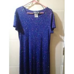 Vestido Dama All That Jazz Para Fiesta Color Azul Eléctrico