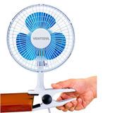 Ventilador Mini De Mesa 2 Em 1 - 20cm Portatil 110v
