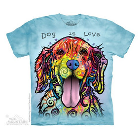 Camiseta The Mountain - Dean Russo - Dog Is Love
