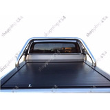 Tapa Rigida Retractil De Aluminio Para Toyota Hilux Colocada