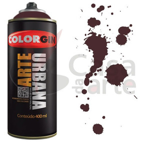 Tinta Spray Arte Urbana Colorgin 350ml Marrom Café 929
