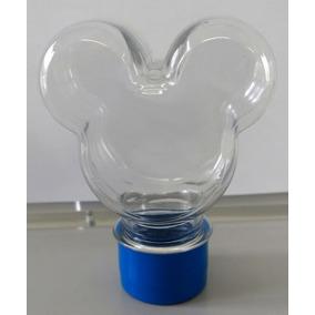 Kit 10 Tubete + 10 Latinha Caixinha Plastica Mickey Minnie