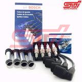 Jogo Vela + Cabo Bosch Sp07 Palio 1.6 8v Gasolina Gás 92cv