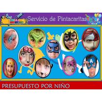 Pinta Caritas Infantil Cobramos X Niño