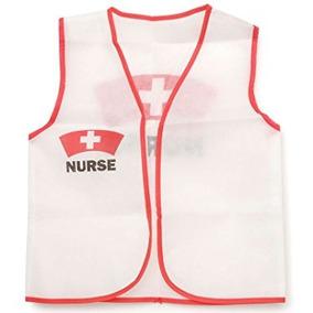 Disfraz Para Niña Chaleco Niño De La Enfermera