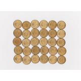 Uruguay Nuevo Lote De 30 Monedas De Bronce $1 Año 1965
