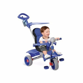 Triciclo Smart Comfort Azul 256 - Bandeirante- Oferta