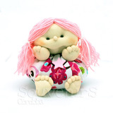 Souvenir Muñeca Soft Nena Nacimiento Baby Shower Cumpleaños