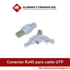 Conector Rj45 Para Cable Utp Cat5e Sin Uso De Herramientas