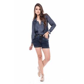 Short Jeans Feminino Denuncia
