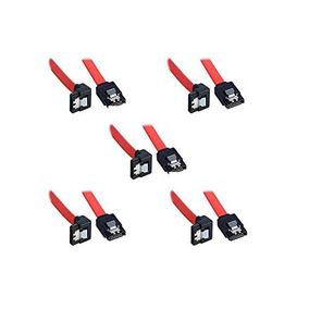 (5 X Cable De Datos Sata 3) Cable Sata Iii (sata 3) (40 Cm)