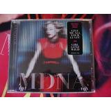 Madonna Mdna Afiche Y Pin Cd Fisico Original Importado