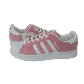 zapatillas adidas superstar rosas
