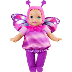 Little Mommy Muñeca Bebe Tierna Como Yo Disfraz De Mariposa