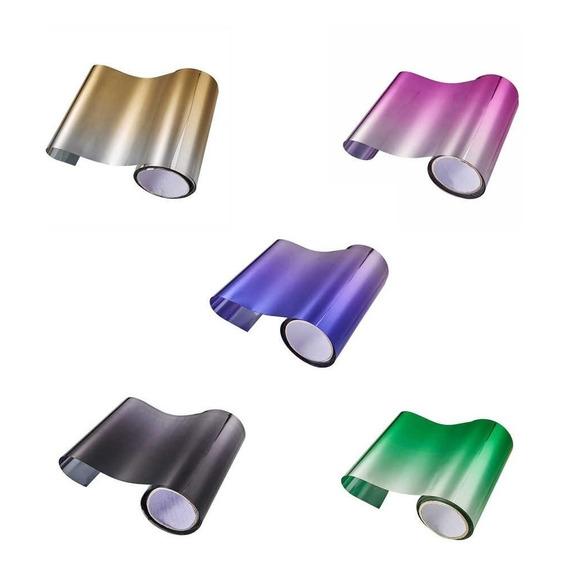 Polarizado Degrade De Colores 0,75 Cm X Metro Lineal