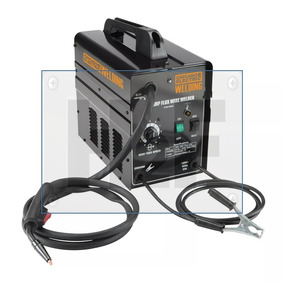 Broca Maquina Soldar 90amp Alimentacion De Cable Flux. 120v