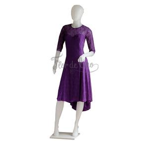 Vestido De Tango Y Noche - Encaje - Talle M