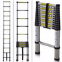 Escalera Telescopica Aluminio 12 Escalones 3,8 Metros 160kg