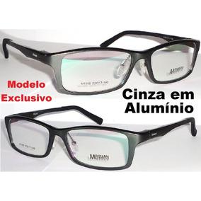 Armação P/ Óculos Grau Alumínio Antialérgica Mod. Exclusivo