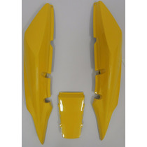Carenagem Traseira(3peças)amarelo 2007/2008 Twister(cbx) 250